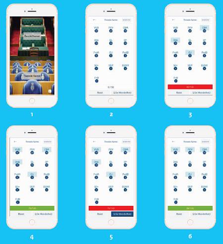 Zetelverdeler KCWJ app visueel